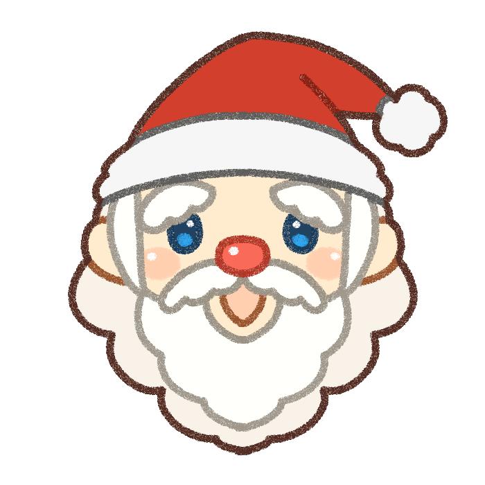 サンタクロースのイラスト素材
