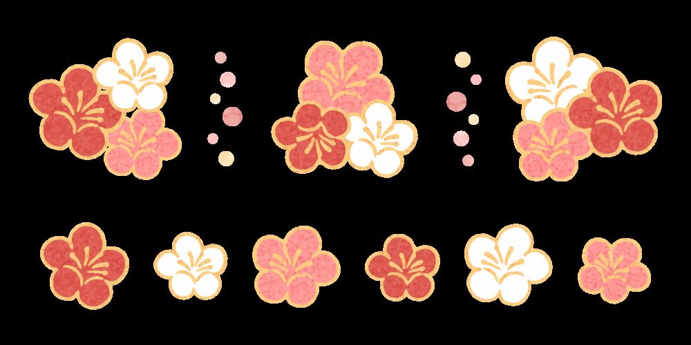 梅の花のイラスト素材